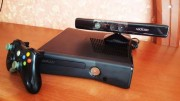 XBOX 360 Slim 250gb Kinekt Прошитий LT-3.0+freeBoot+50ігор