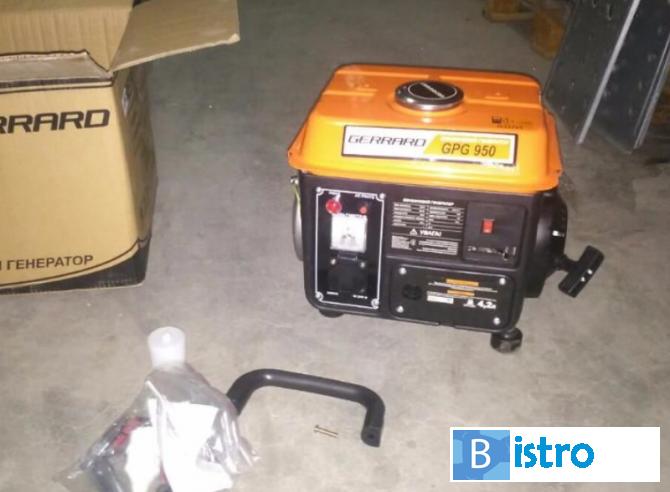 Бензиновый генератор gerrard gpg950 бензиновый инверторный генератор что это такое