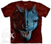 Футболка мужская Mountain Men's T Rex Face T-Shirt Размер М Оригинал