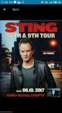 STING 57TH & 9TH TOUR Киев дв. Спорта 06.10.2017. 19-00