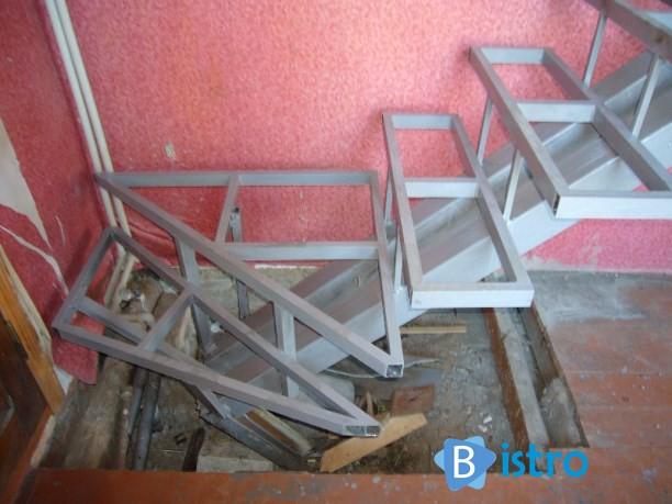 Лестницы своими руками из металла фото 54